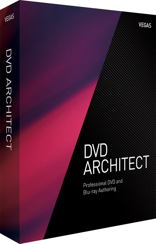 VEGAS DVD Architect