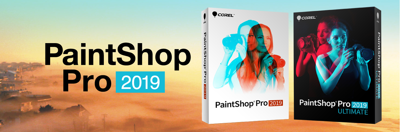 【48%OFF】PaintShop Pro 2019 Ultimate スターターセット